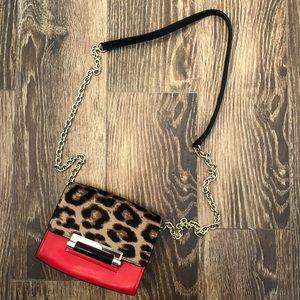 Diane Von Furstenberg Leopard Crossbody Bag